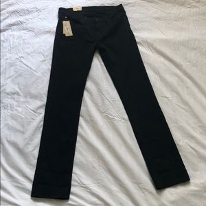 Ralph Lauren Black Denim Straight Jeans